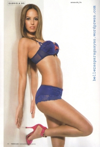 Gaby Bo en Maxim Mexico - Feb 2009